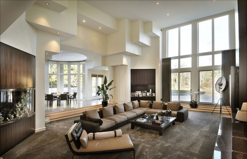 Beautiful Deco Salon Beige Et Taupe Gallery - Design Trends 2017 ...